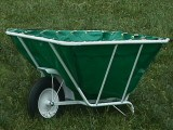 EquiGym Muck Cart standing in field